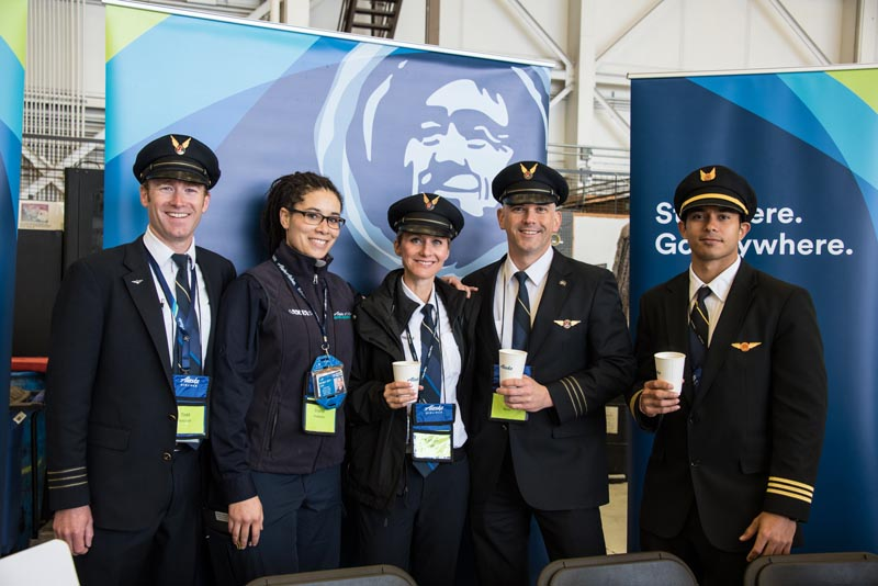 Seattle – Alaska Airlines Aviation Day
